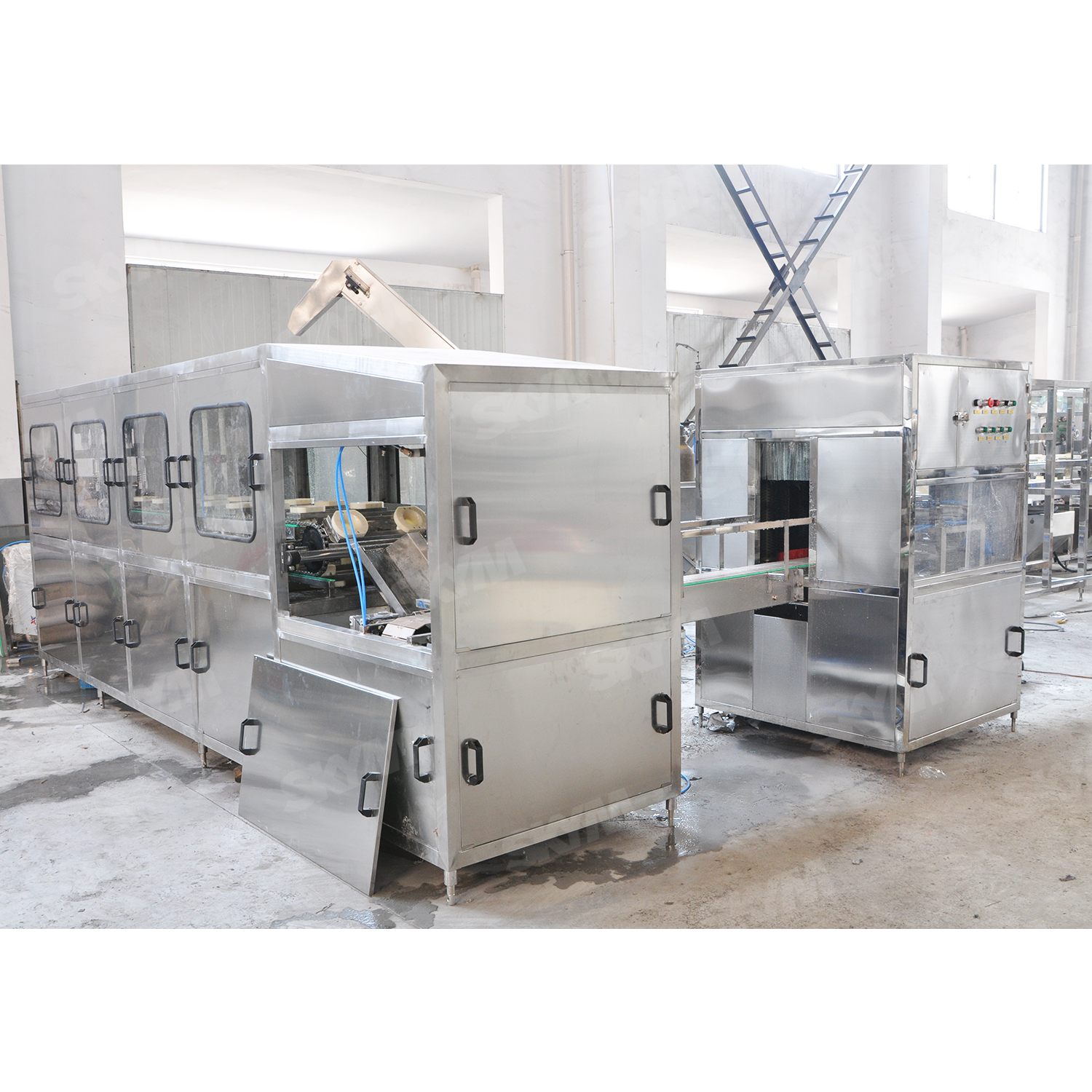 Automatic Pure Water Washing Filling Capping Machine 5 Gallon Filling Machine