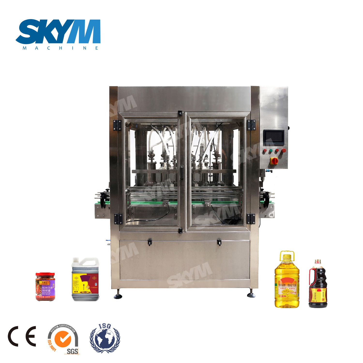 Automatic Tomato Ketchup/paste/sauce Bottling Filling Machine