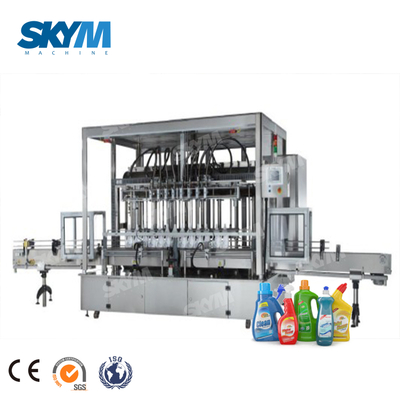 Piston Soap Sanitizer Liquid Bottle Filling Machine