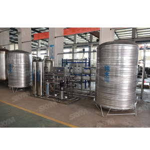 Industrial Reverse Osmosis Pure Water Treatment Plant
