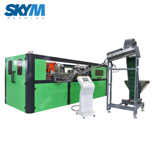 Full Servo 6 Cavity PET Bottles Blow Molding Machine
