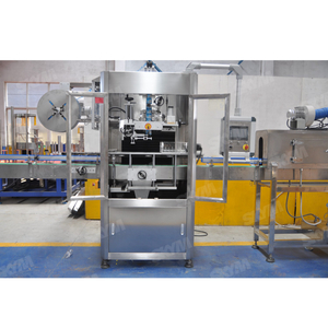 High Speed Flat Bottle Shrink Sleeve Labeling Machine
