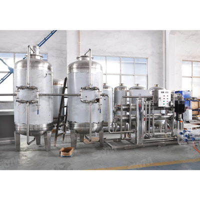 RO1000 RO Water Treatment Plant with Ozone Sterilization