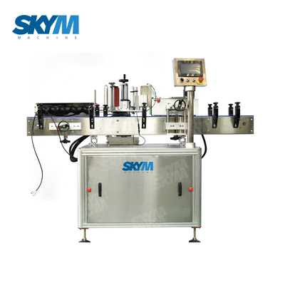 Single Head Clear Labels Adhesive Sticker Pasting Machine