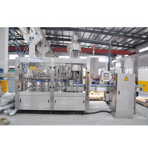 PLC Control Mineral Water Bottle Filling Machine