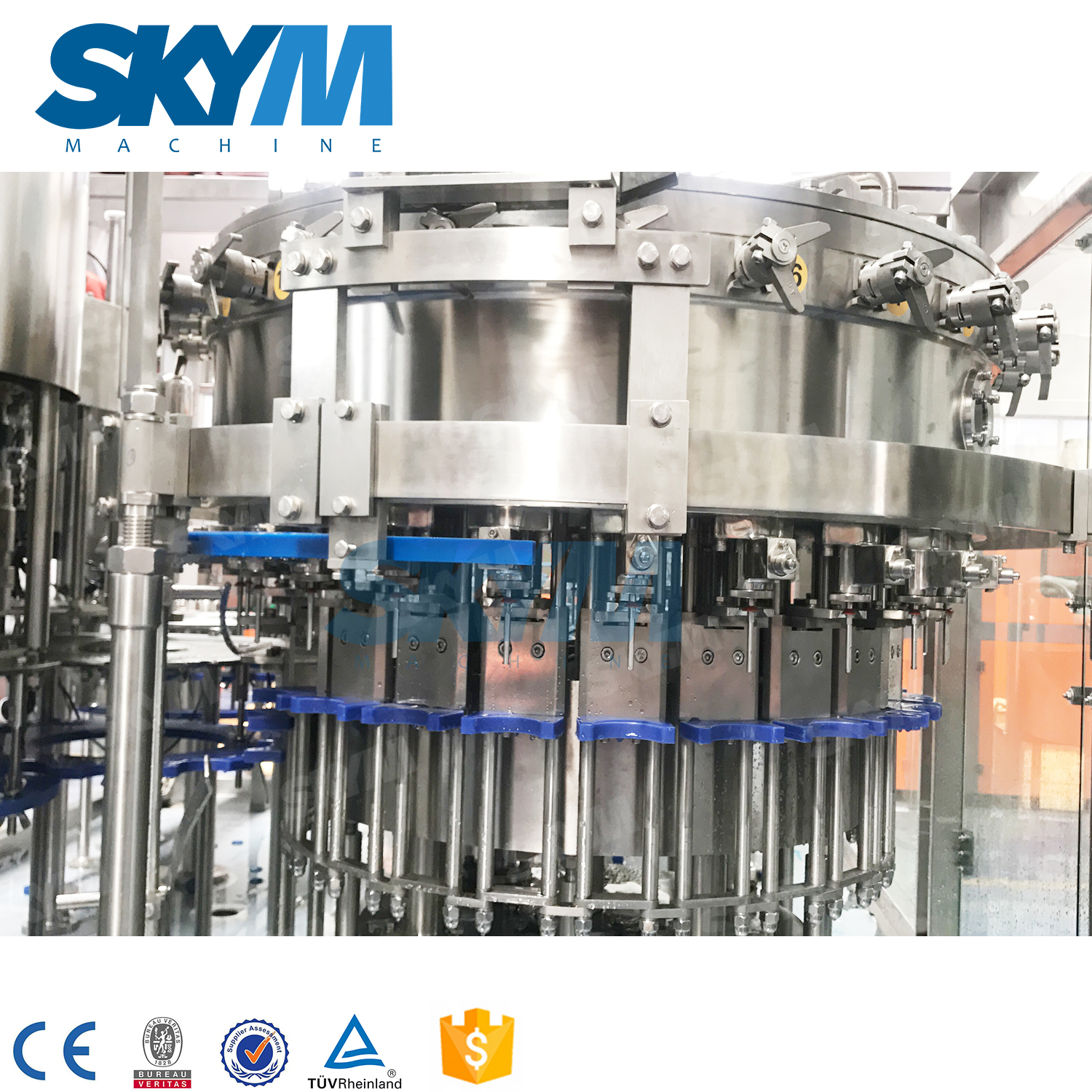 4000BPH Carbonated Soft Drinks Making Machine