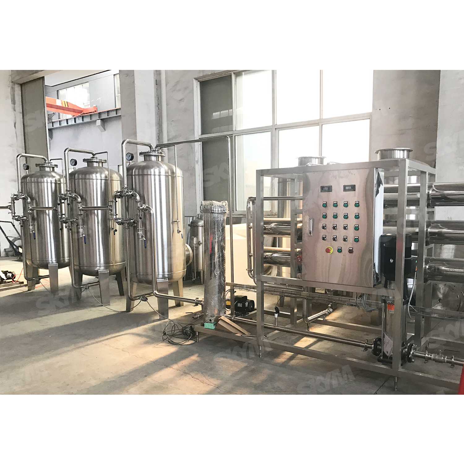 Automatic Industrial RO Pure Water Purification System