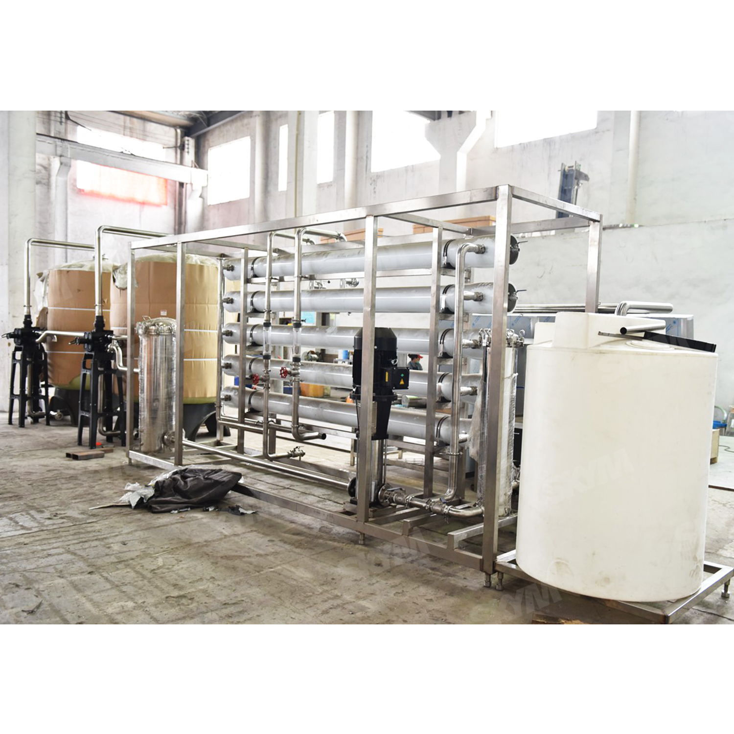 15t Industrial RO UV Water Treatment Machine