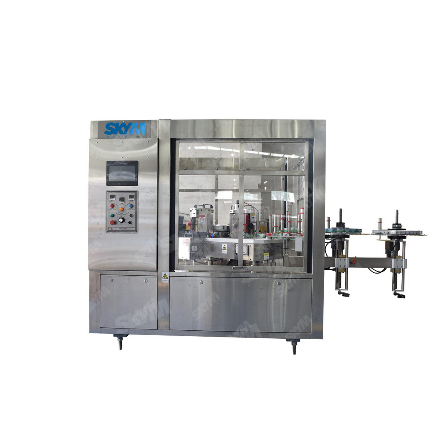 PET Bottle OPP Film Hot Melt Glue Labeling Machine