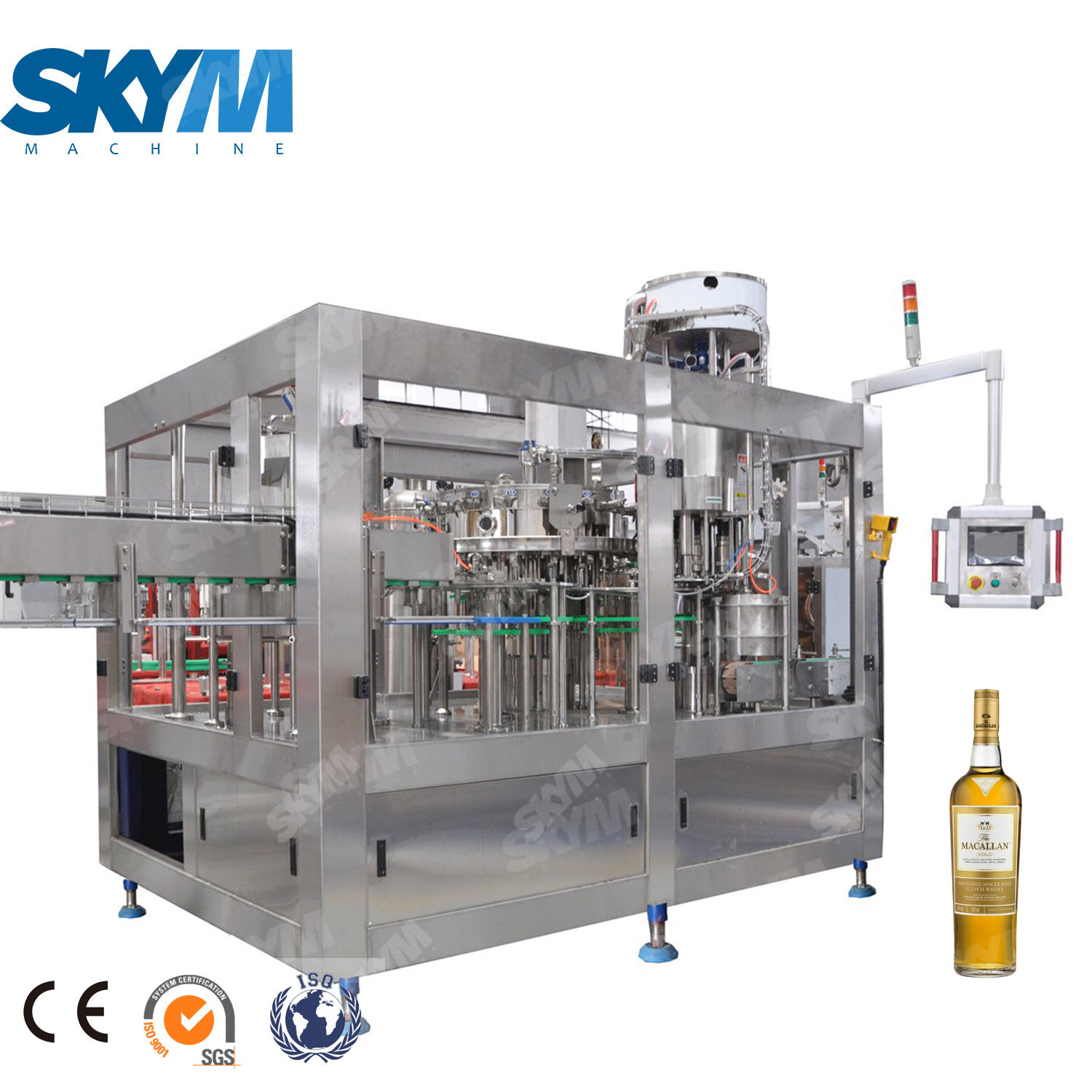 Automatic Wine Filling And Bottling Machine / Equipment