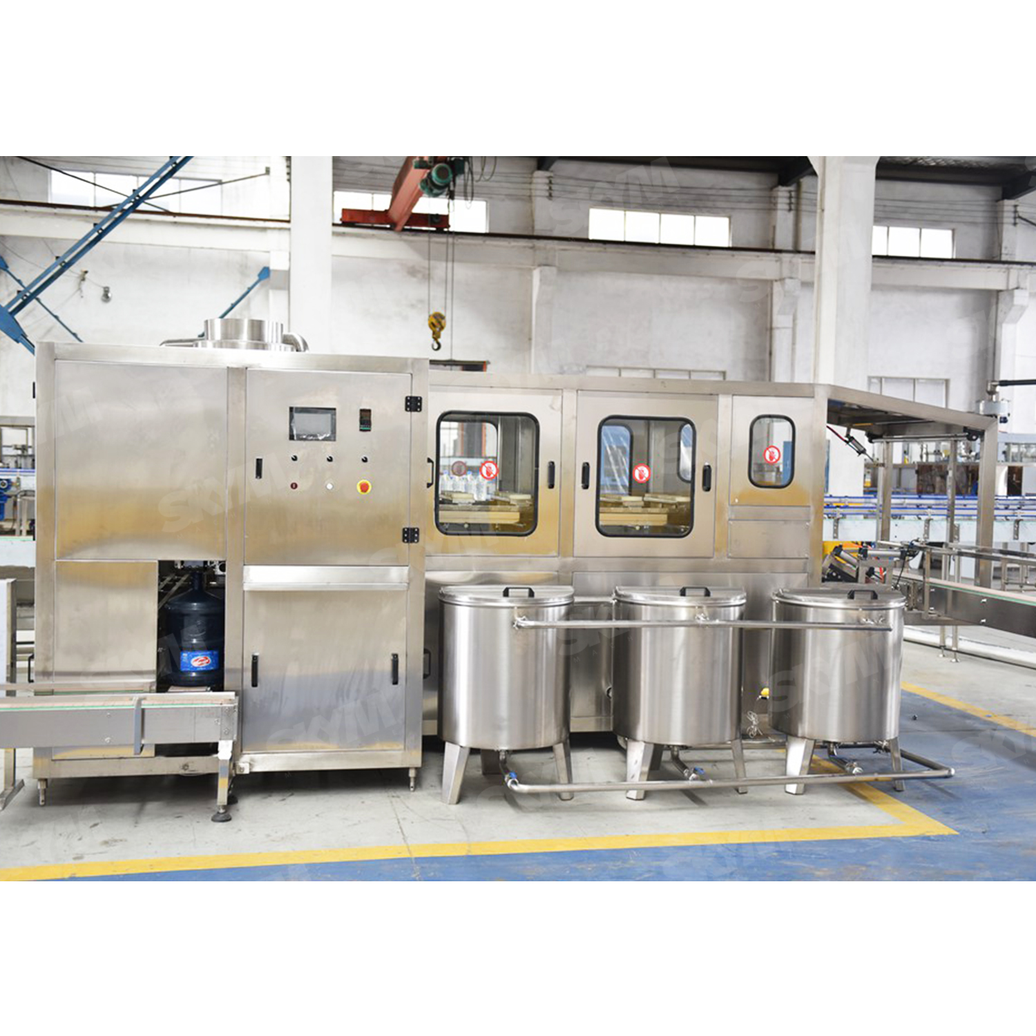 3 in 1 3-5 Gallon Mineral Water Production Line