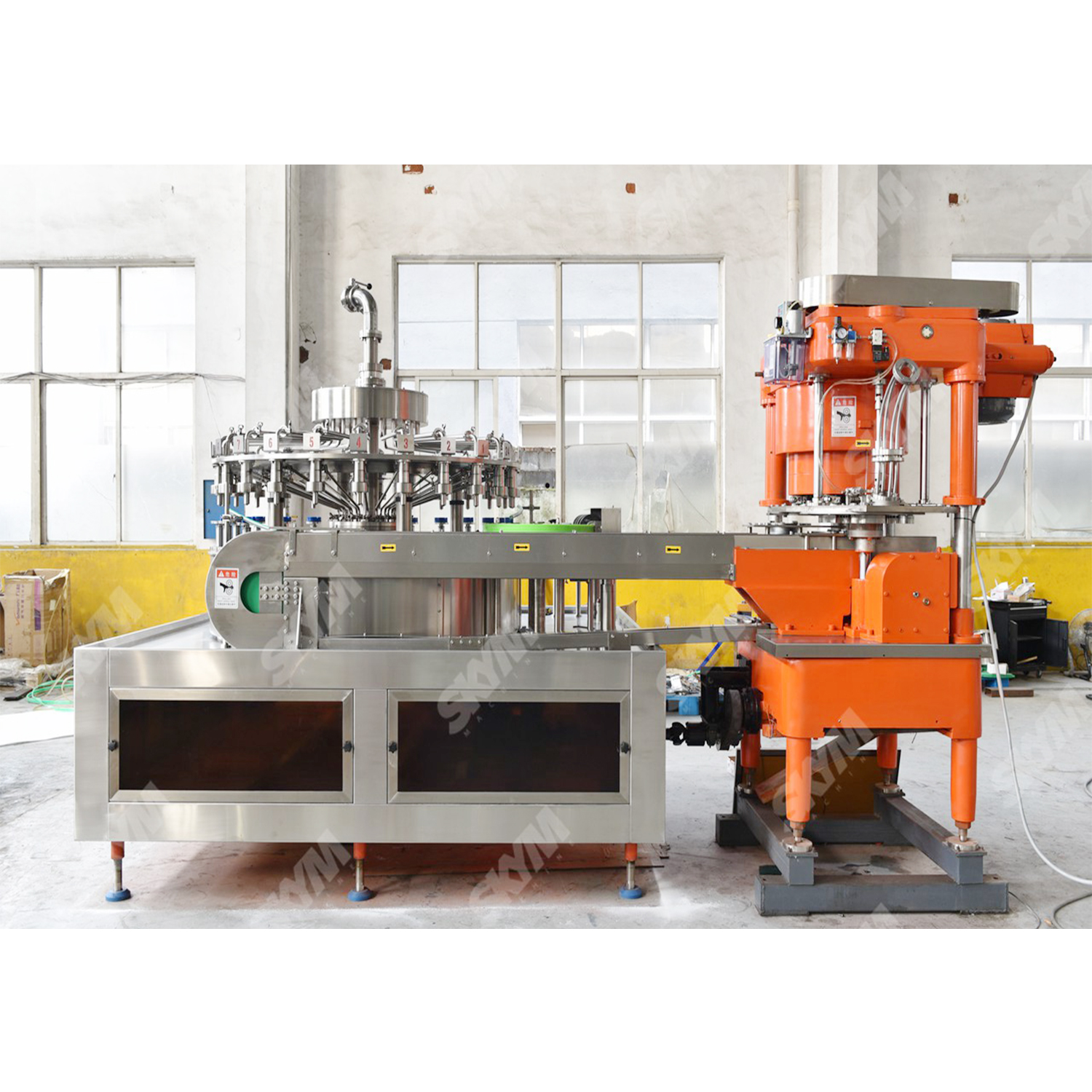 Automatic Aluminum Can Soft Drink Filling Machine