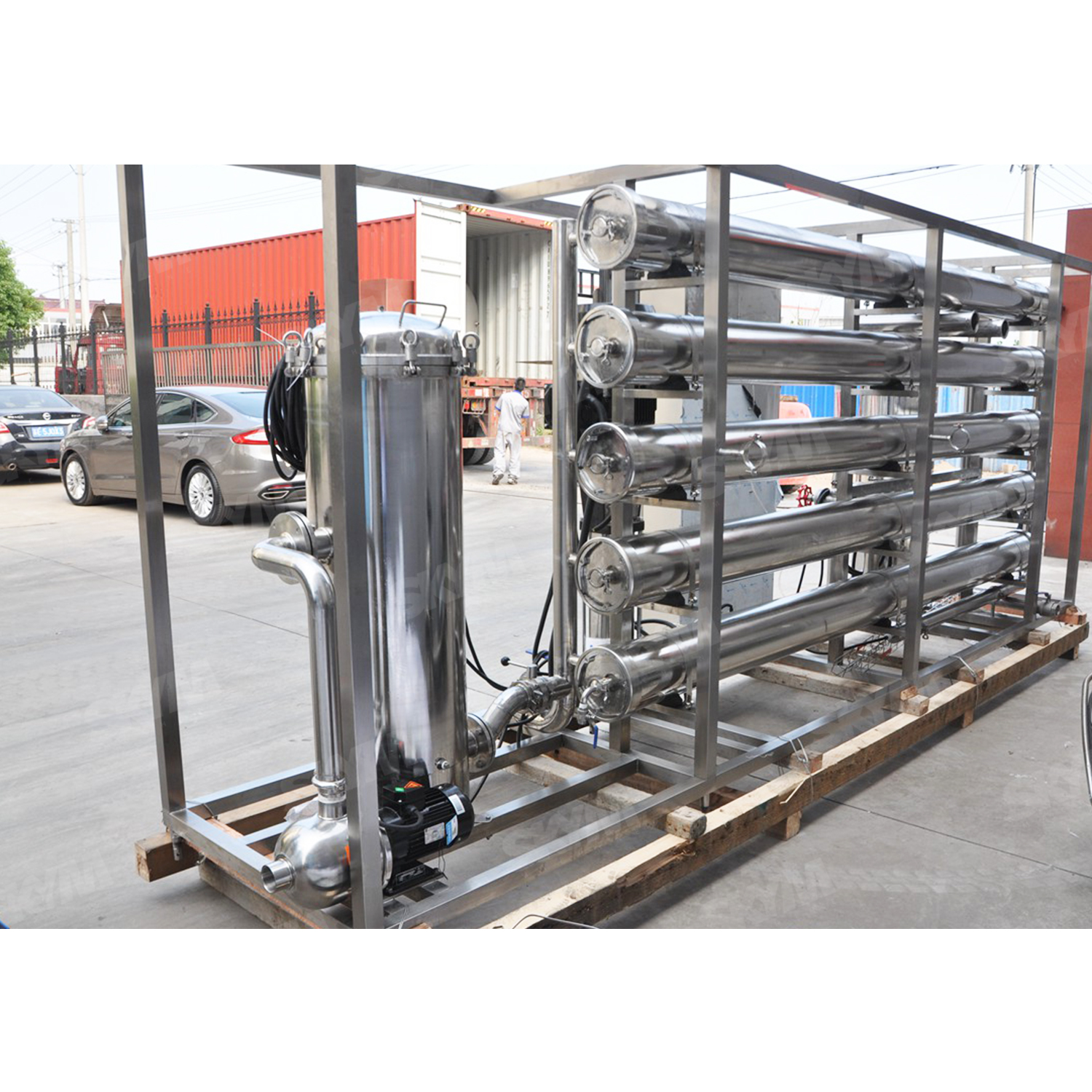 15t Automatic Activated Carbon Column Water Treatment Machine