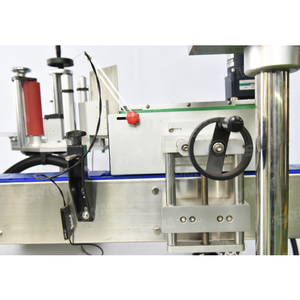 Horizontal Self Adhesive Labels Pasting Machine for Round Bottle