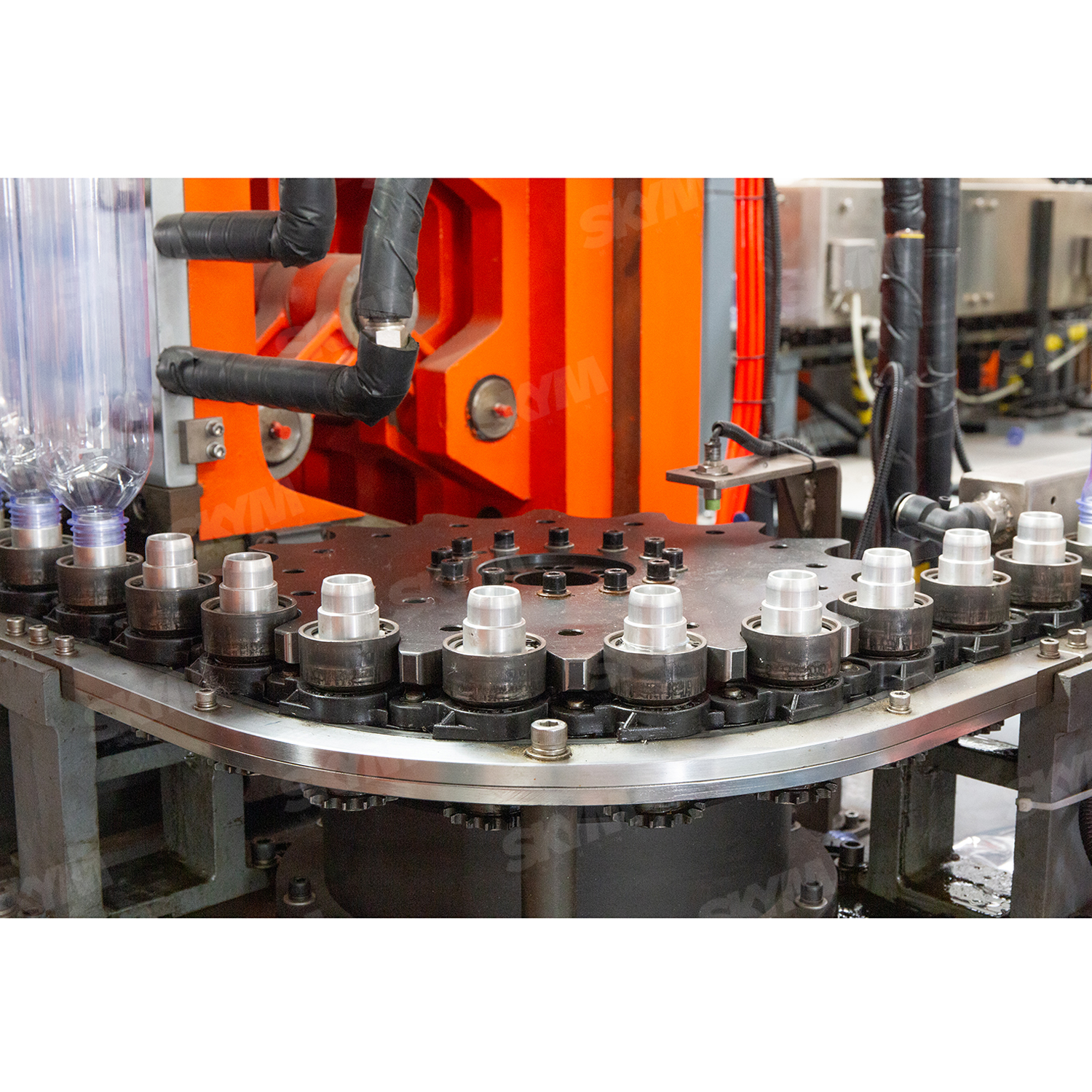 High Speed Automatic PET Bottle Blow Molding Machine
