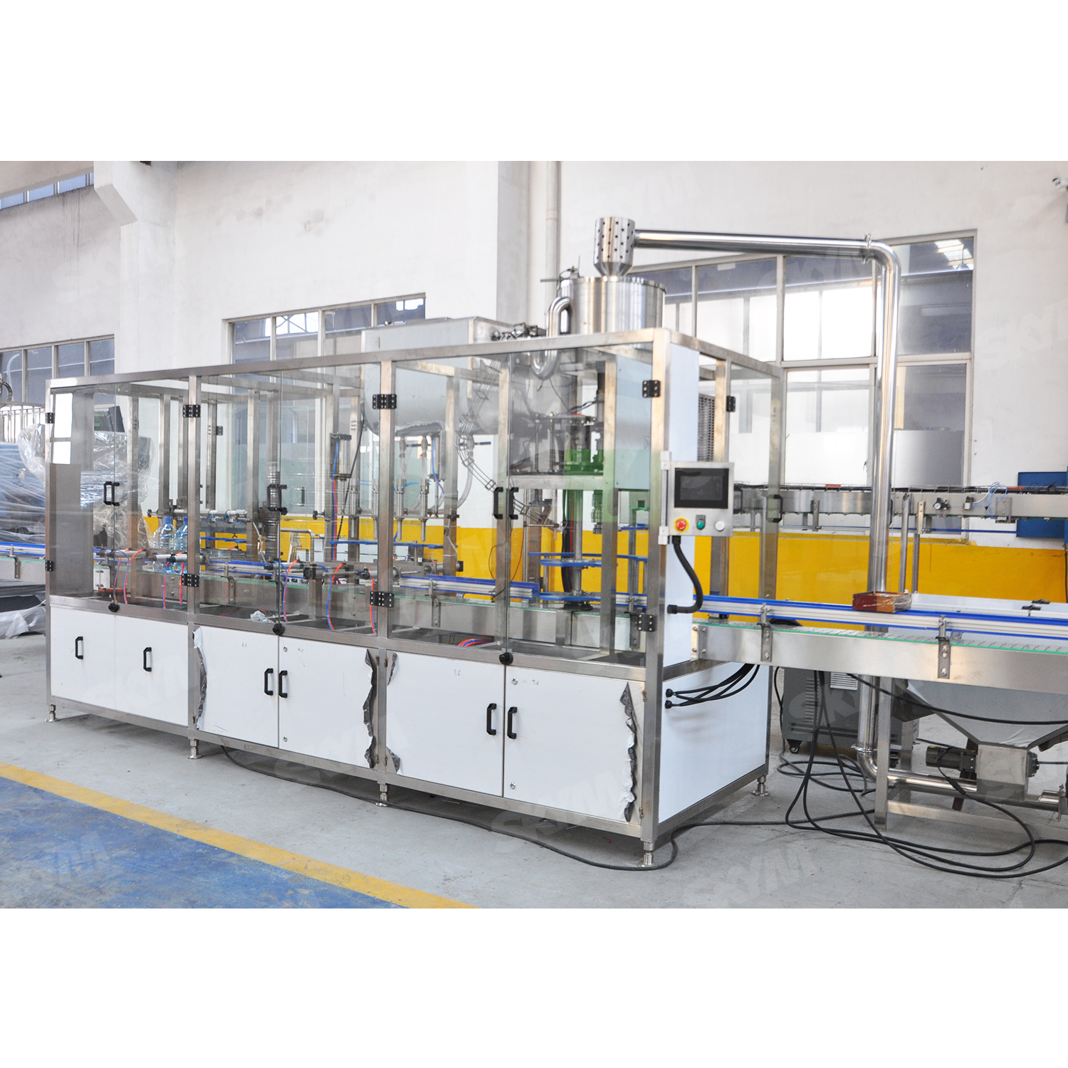 Large Bottle Linear Type Pure Water Bottling Machine