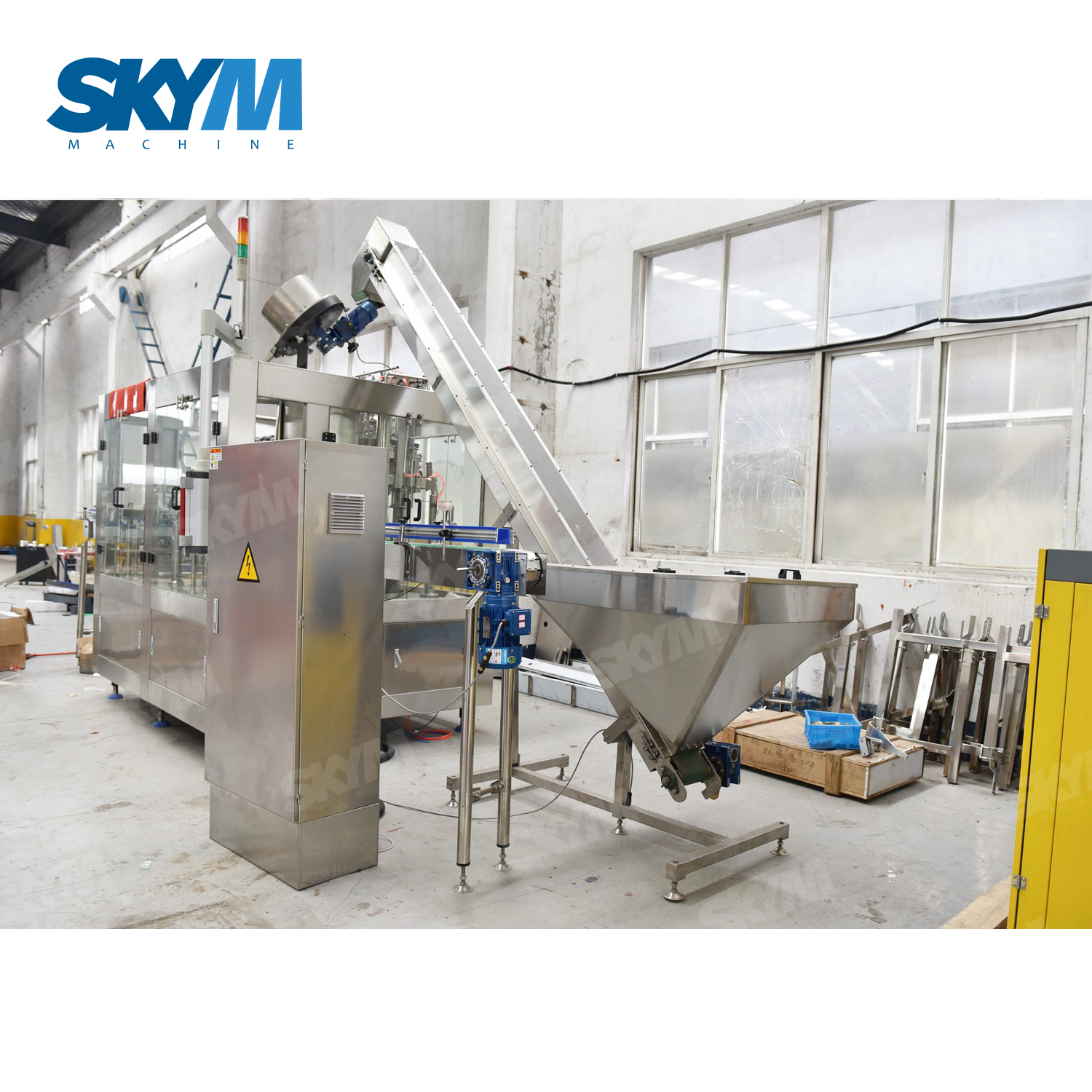 PET Bottle Carbonated Beer Filling And Capping Machine