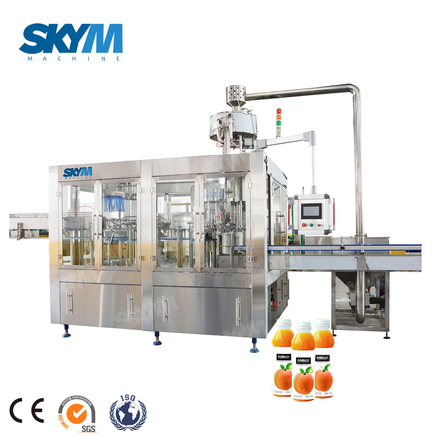 Vegetables Fruit Juice Aseptic 3 in 1 Filling Machine